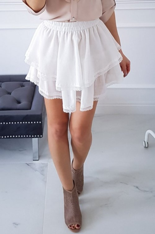 Spódnica SAMBA biała