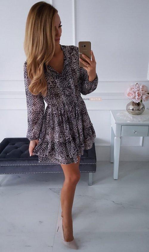 Sukienka TORRESA cętki
