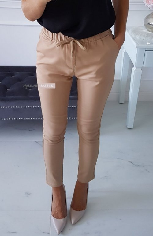 Spodnie DEEPS beżowe