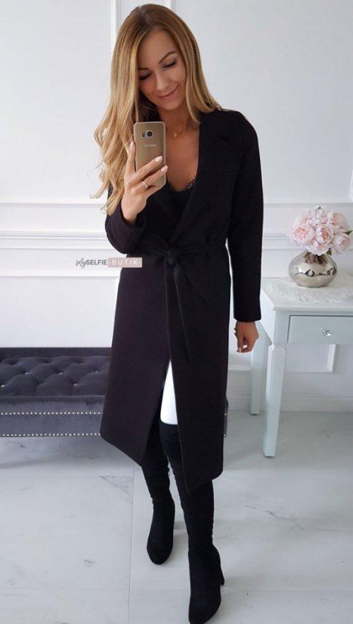 Płaszcz NEVADA czarny