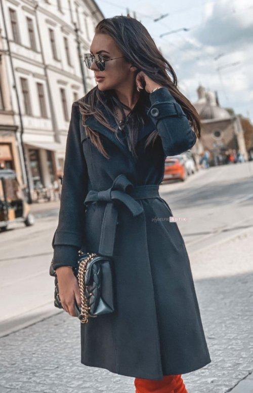 Płaszcz BROADWAY czarny