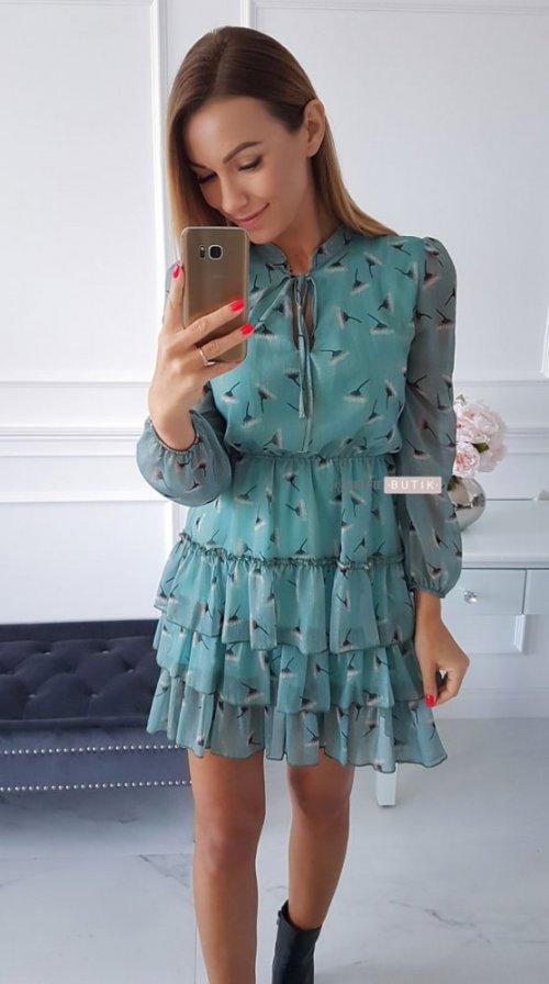 Sukienka SWING mint