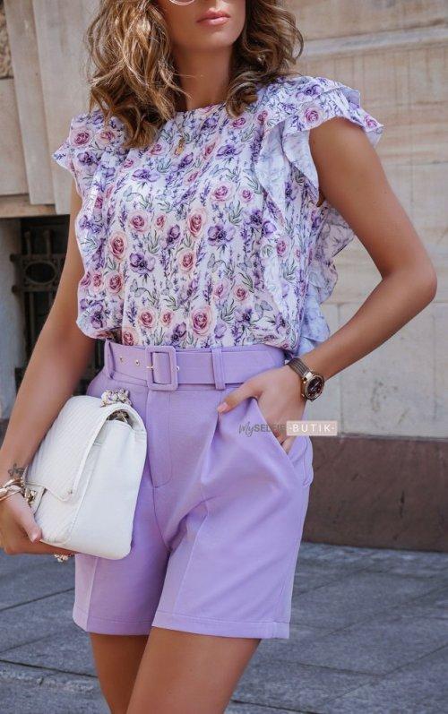 Szorty MILTY lilac