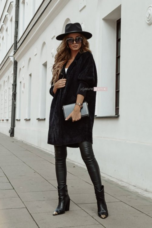 Płaszcz ALPAKA czarny