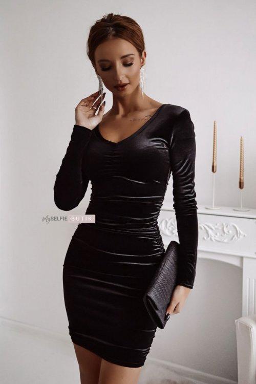 Sukienka EMERALD czarna