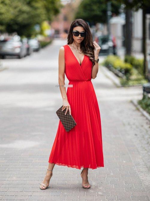 Sukienka MELODY czerwona