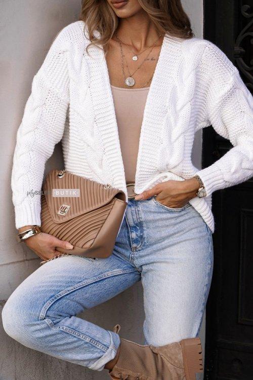 Sweter MIRO biały
