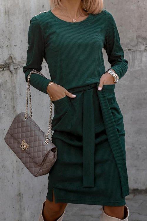 Sukienka PRETA zielona