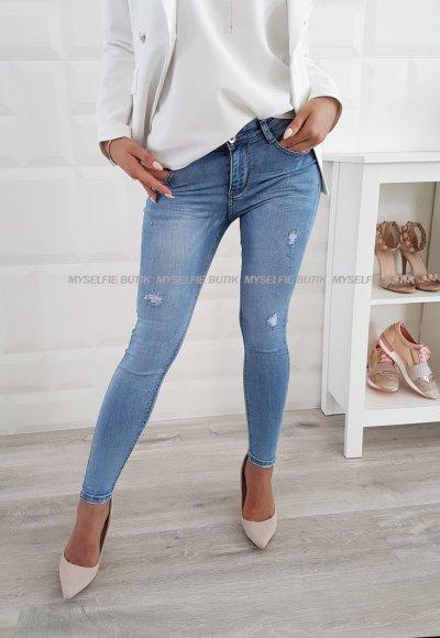 Spodnie SLIM jasny jeans