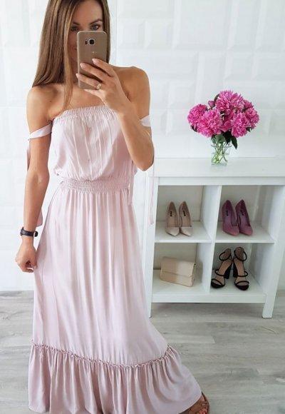 Sukienka SPAIN beżowa 1