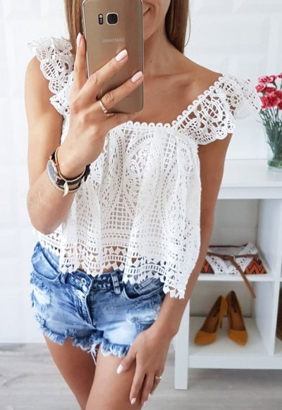 Bluzka SOLEIL biała 2