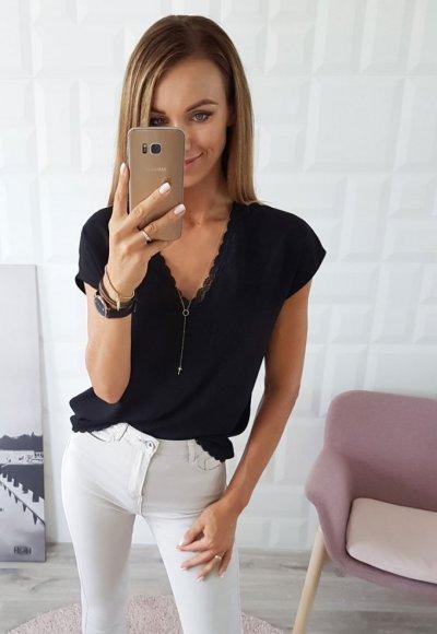 Bluzka ELENA czarna