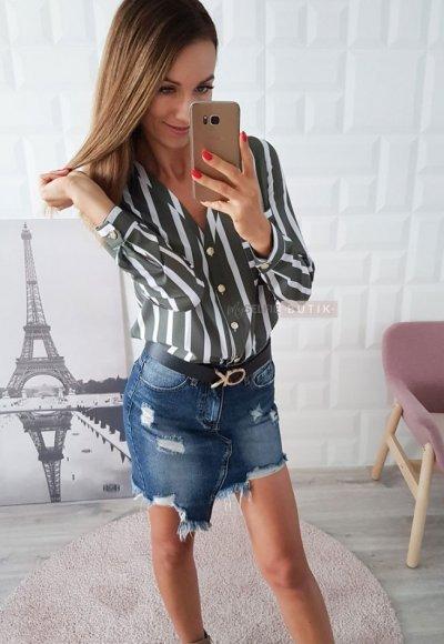 Spódnica DENIM niebieski jeans