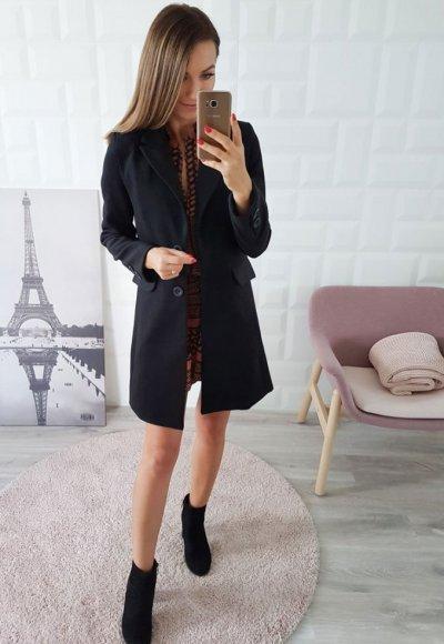 Płaszcz CASABLANCA czarny