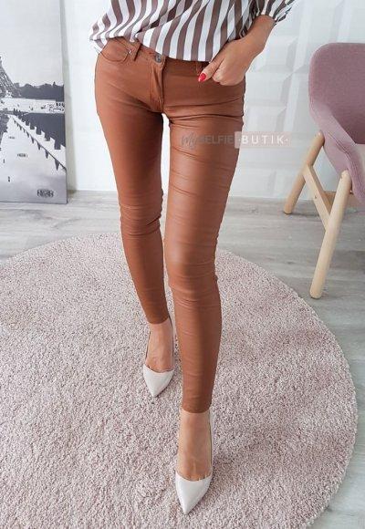 Spodnie CARAMEL karmelowe