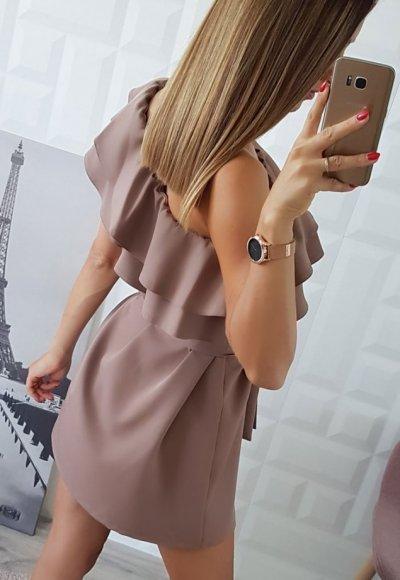 Sukienka BELLA beż 1