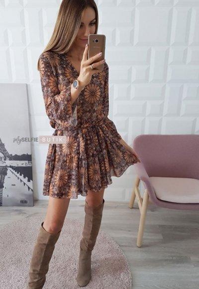 Sukienka VINN wzory