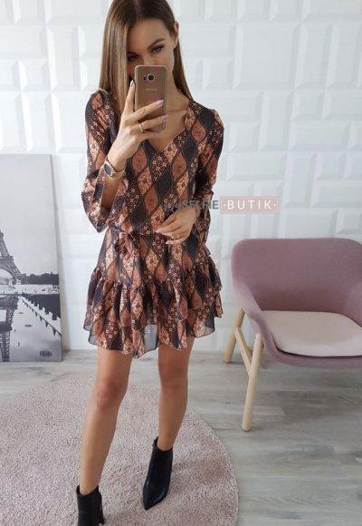 Sukienka ODINE wzory