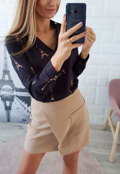 Bluzka PARIS czarna
