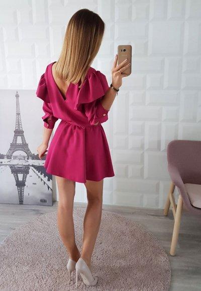 Sukienka PARISIEN fuksja