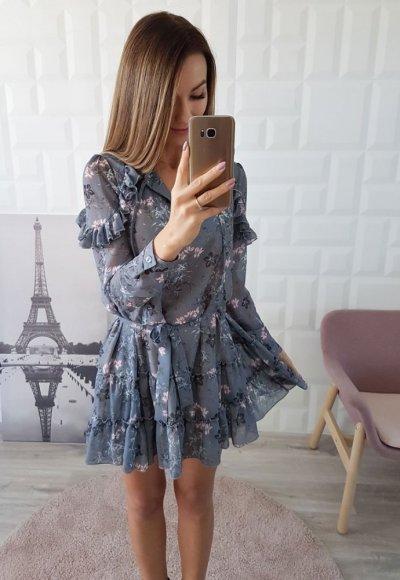 Sukienka MIRIAM w drobne kwiatuszki