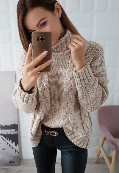 Sweter LONDON beż
