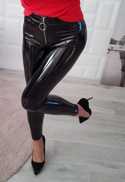 Spodnie LET ME KNOW czarne