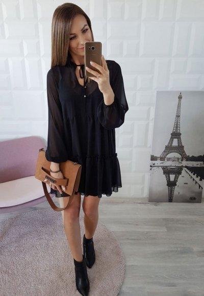 Sukienka LOTTA czarna