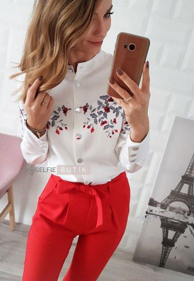 Koszula CLAIR biała