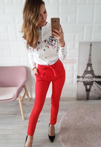 Spodnie TEDORRO czerwone