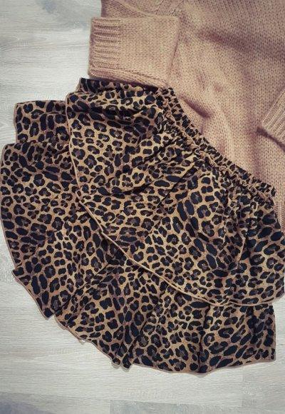 Spódnica SAMBA II w ciemne cętki