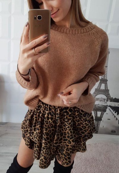 Sweter CORELL camel
