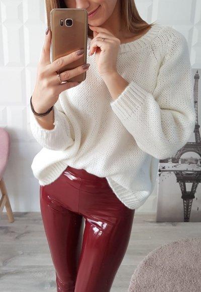 Sweter CORELL biały