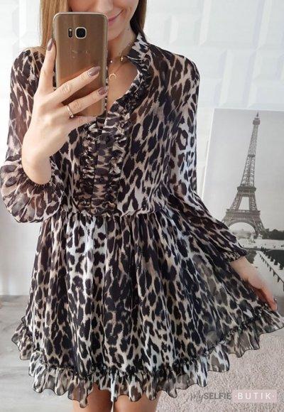 Sukienka LAVINIA cętki