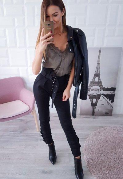 Spodnie PAGE czarne