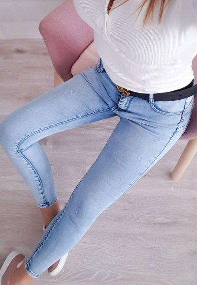 Spodnie LABLANCE jasny jeans