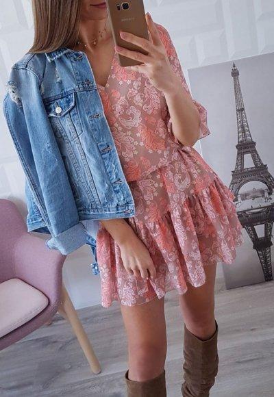 Sukienka MIA we wzory