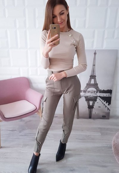 Spodnie POCKET oliwkowe