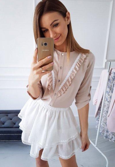 Spódnica SAMBA biała 1