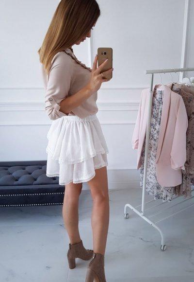 Spódnica SAMBA biała 2