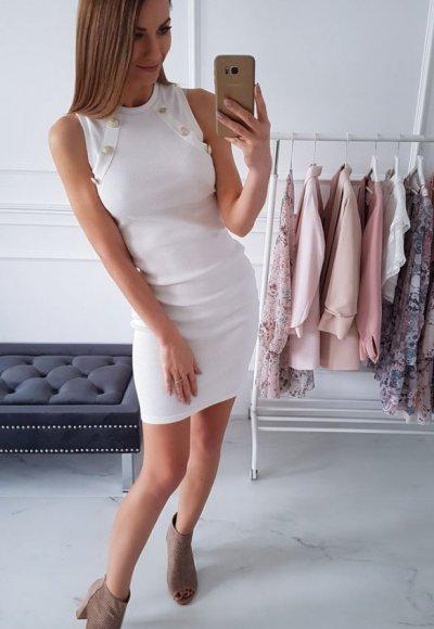 Sukienka CLARICE biała