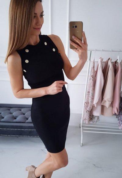 Sukienka CLARICE czarna