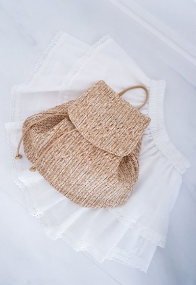 Plecak słomiany SUNNY BAGPACK