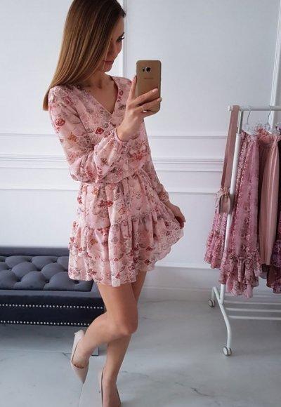 Sukienka KATHIA we wzory