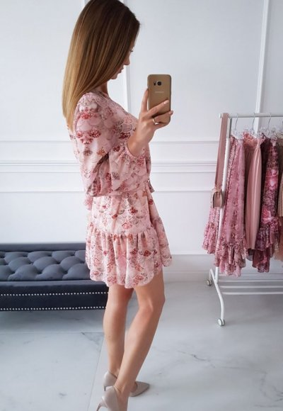 Sukienka KATHIA we wzory 2