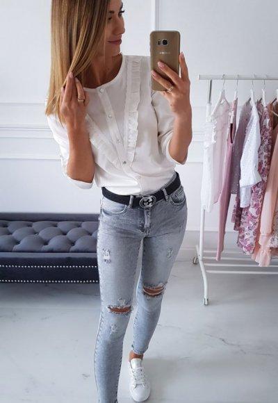 Koszula LETI biała