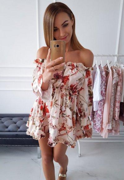 Sukienka PALOMA w kwiaty