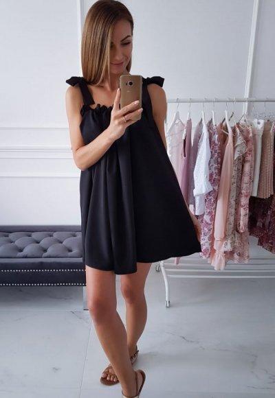 Sukienka PAULIN czarna