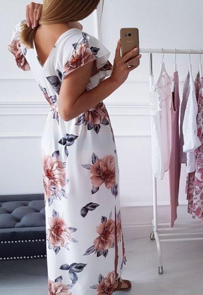 Sukienka BALI w kwiatowy wzór 4