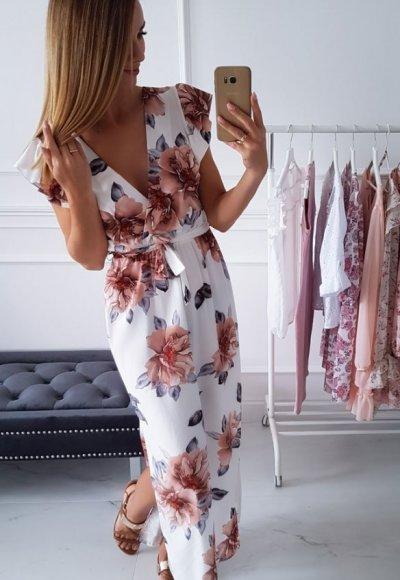 Sukienka BALI w kwiatowy wzór 5